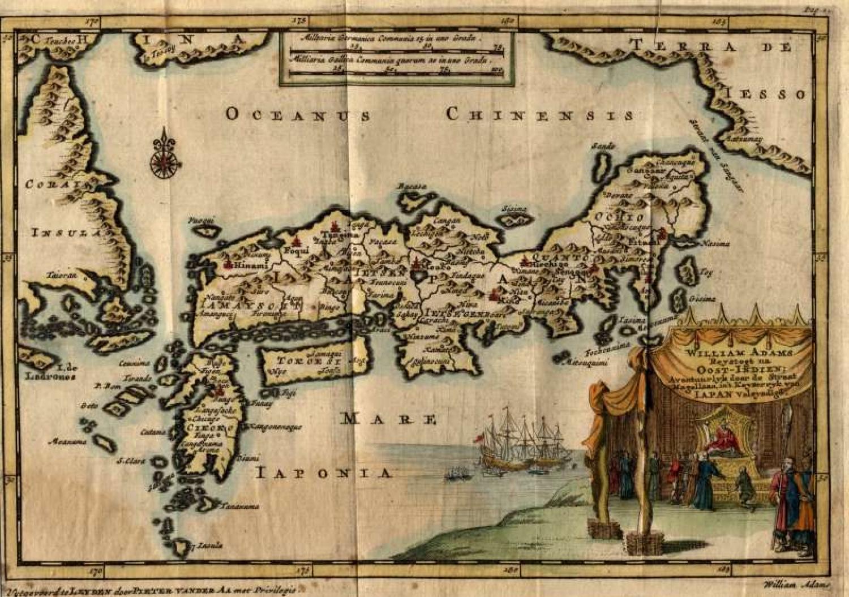 SOLD William Adams Reystogt na Oost-Indien.. JAPAN