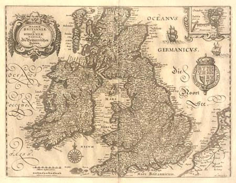 SOLD Magnae - Magnae Britanniae et Hiberniae Tabulae, Die Britannischen Insulen