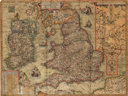 SOLD Angliae et Hiberniae Accurata Decriptio