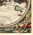 SOLD Orbis Terrarum Tabula Recens Emendata et in Lucem Edita Per. N. Visscher - picture 2