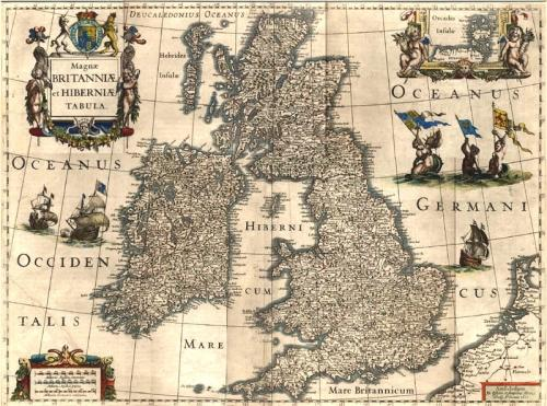 SOLD Magnae Britanniae et Hiberniae Tabula