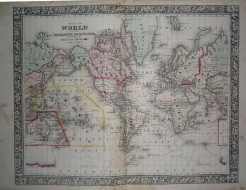 SOLD Mitchell Map - World