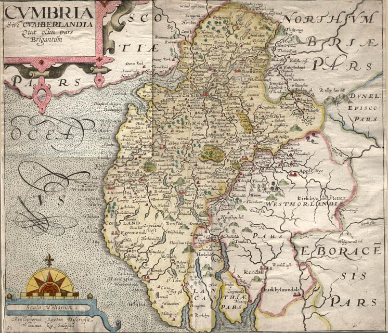 SOLD Cumbria sive Cumberlandia