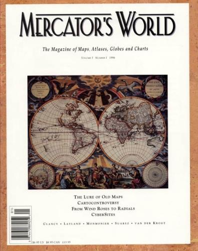 SOLD Mercators World magazine Vol 1, No 1