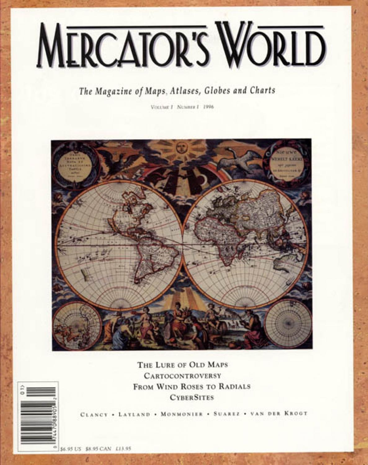 SOLD Mercators World magazine Vol 1, No 1