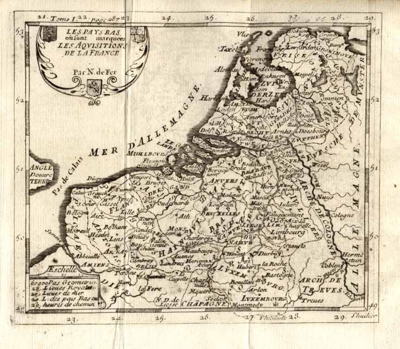 SOLD Les Pays Bas ou sont Marquees Les Acquisitions de La France