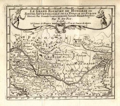 SOLD Le Grand Royaume de Hongrie ou Partie Septentrionale de la Turquie en Europe
