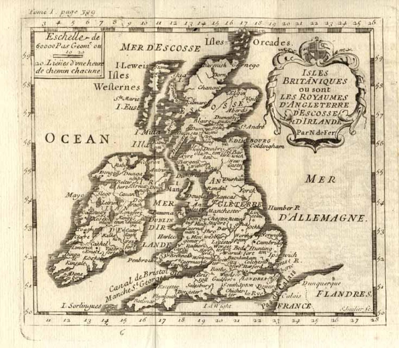 SOLD Isles Britaniques ou sont les Royaumes d'Angleterre, d'Ecosse et d'Irlande
