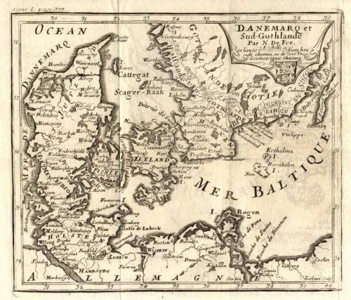 SOLD Danemarq et sud Gothlande