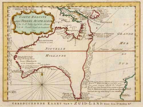SOLD Carte Réduite des Terres Australes.