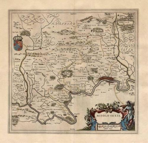 Blaeu - Middlesexia