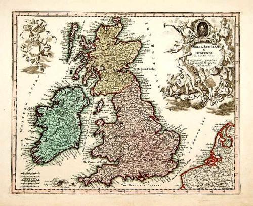 SOLD Anglia Scotia et Hibernia.