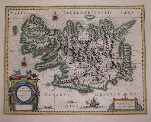 SOLD Tabula Islandiae