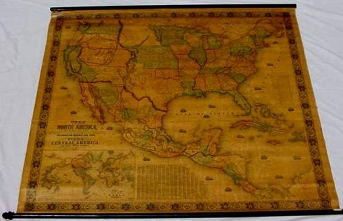SOLD New Map of that Portion of North America Exhibiting the United States and Territories, the Canadas...