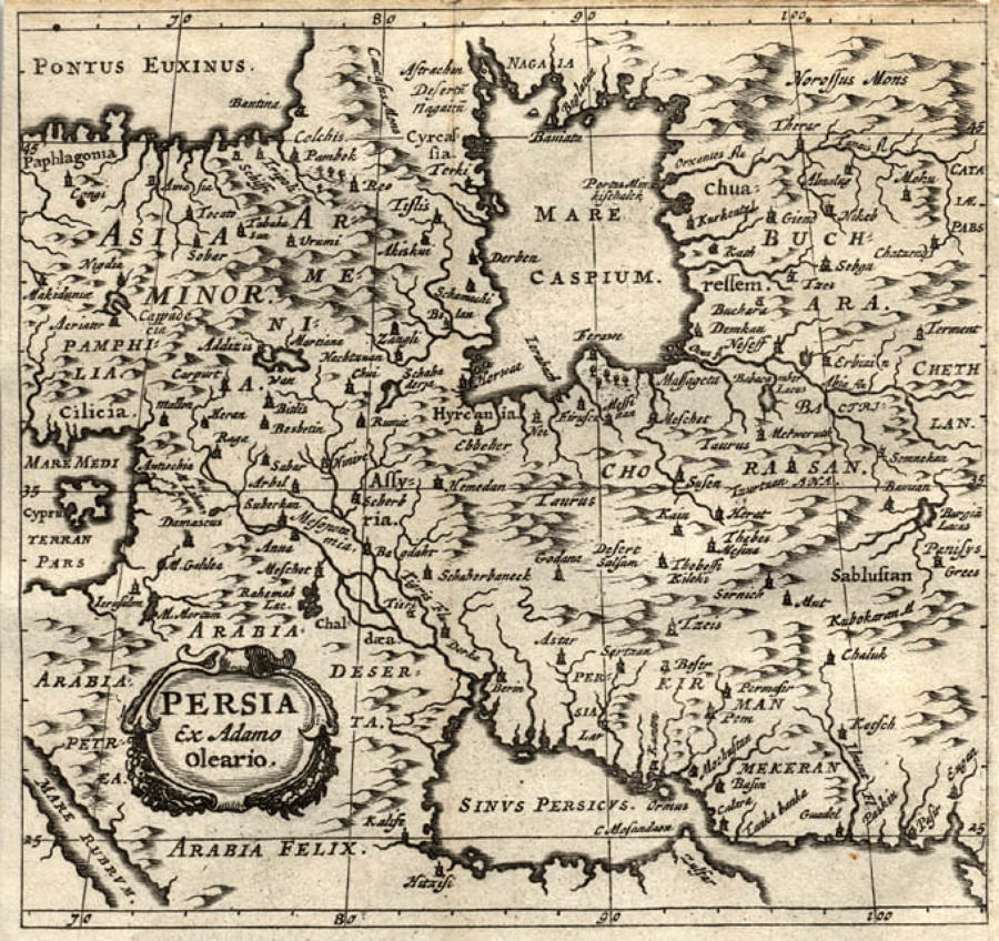 Cluver - Persia
