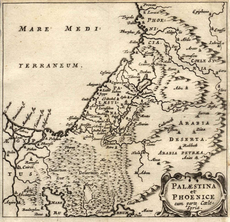 Cluver - Palaestina et Phoenice