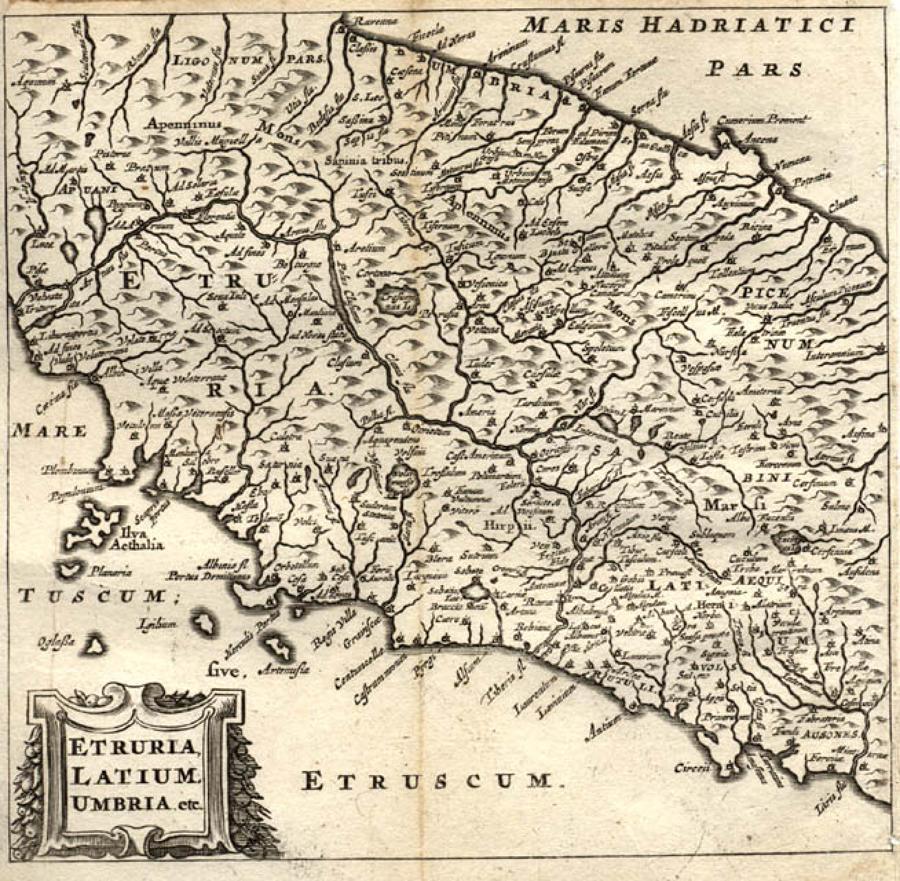 Cluver - Etruria, Latium, Umbria