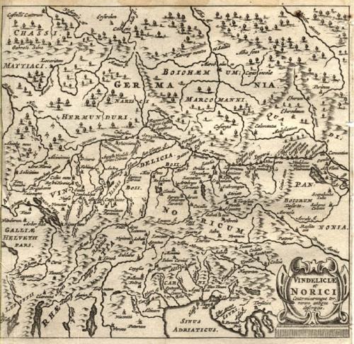 Cluver - Vindeliciae et Norici