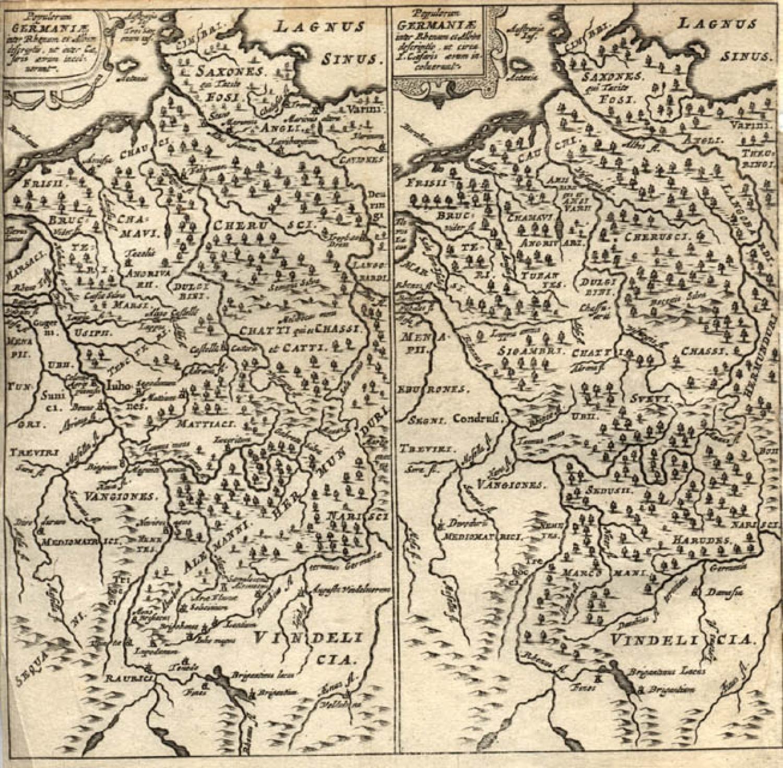 Cluver - Populorum Germaniae