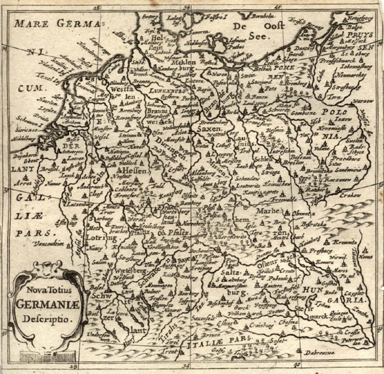 Cluver - Nova Totius Germaniae descriptio
