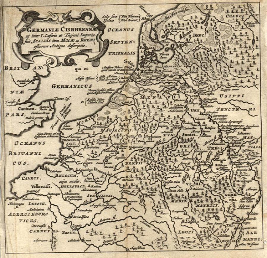 Cluver - Germaniae Cisrhenanae