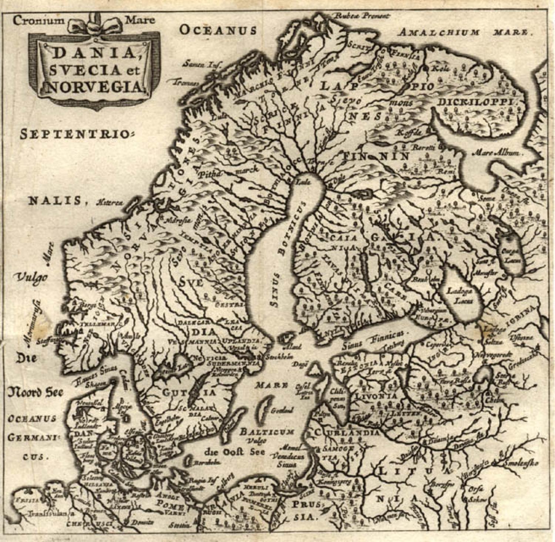 SOLD Dania, Svecia et Norvegia
