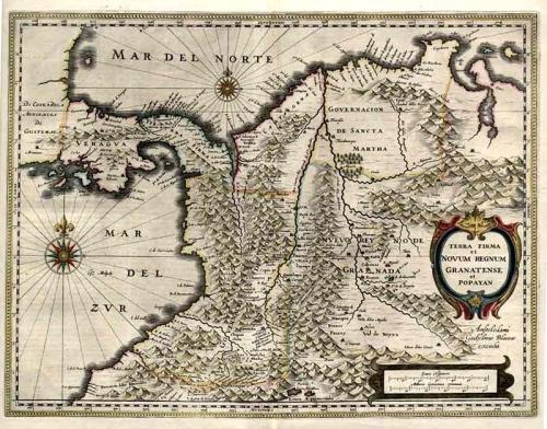 SOLD Terra Firma et Novum Regnum Granatense et Popayan.