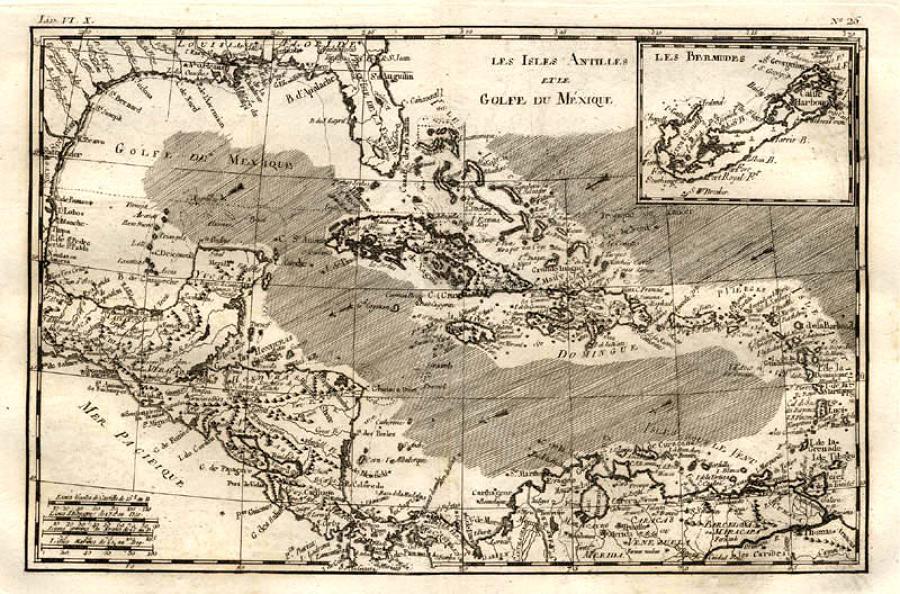 Bonne - Isles Antilles et le Golfe du Mexique