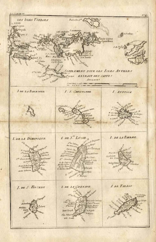 Bonne - Supplement our les Isles Antilles