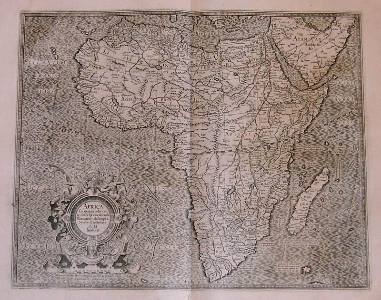SOLD Africa Ex magna orbis terre descriptione