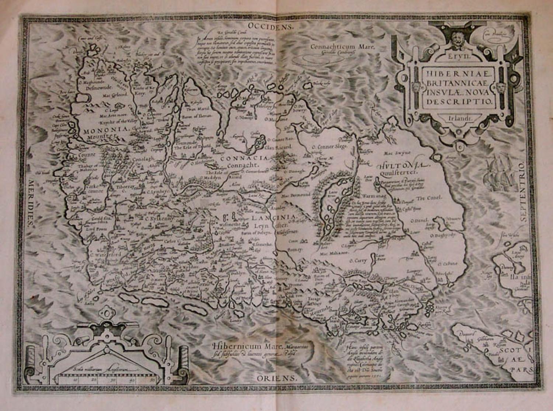 SOLD Hiberniae Britannicae insulae nova descriptio Irlandt