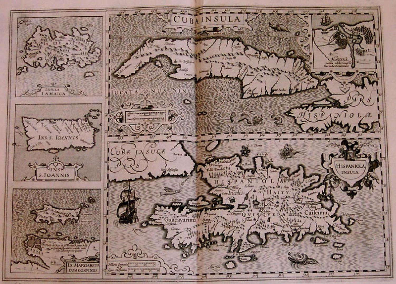 SOLD Cuba Insula Hispaniola Insula