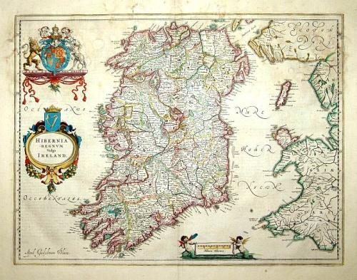 SOLD Hibernia regnum vulgo Ireland