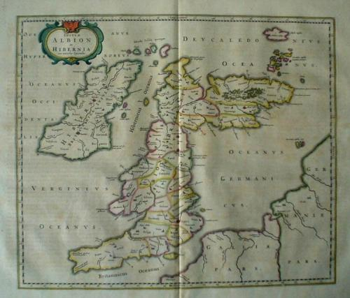 SOLD Insula Albion et Hibernia