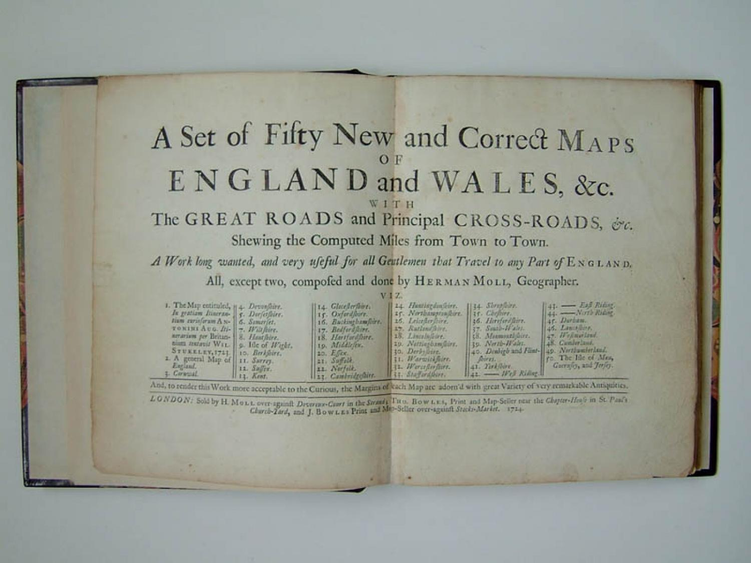 SOLD Set of Fifty New and Correct Maps Of England and Wales...