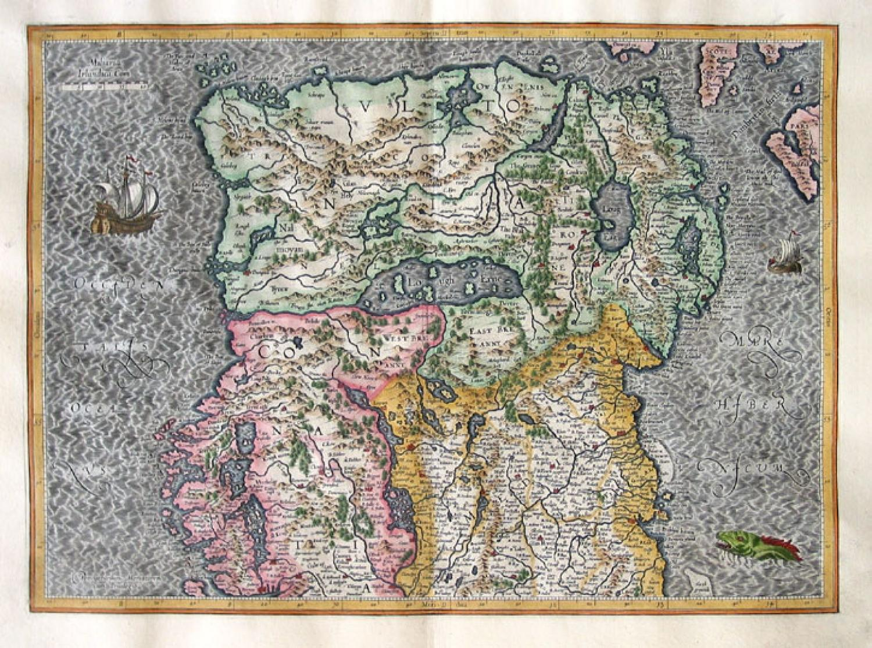 SOLD (Set of 2) Irlandiae Regnum