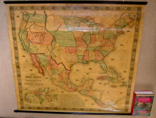 SOLD New Map of that Portion of North America Exhibiting the United States and Territories, the Canadas..