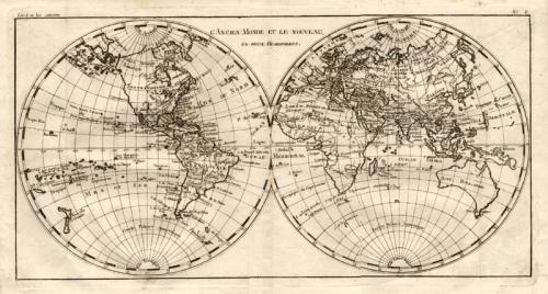 SOLD L'Ancienne Monde et le Nouveau