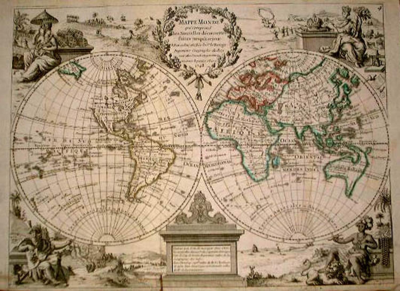 SOLD Mappe Monde...