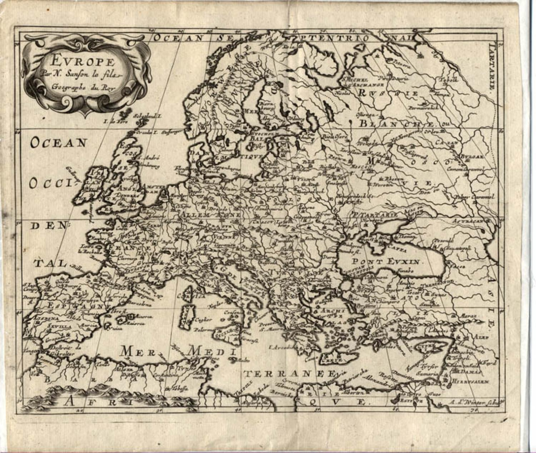 Sanson - L'Europe