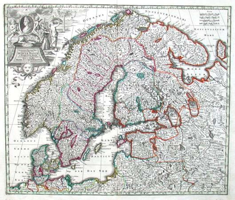 SOLD Sueciae, Daniae et Norvegiae regn...
