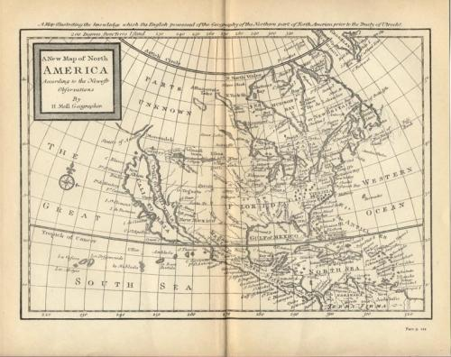 SOLD A New Map of North America