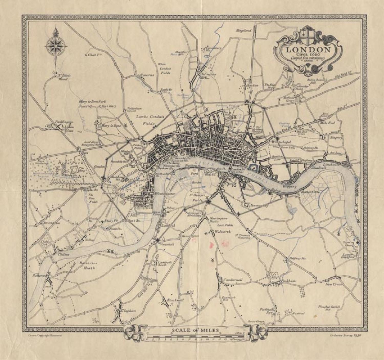 SOLD London Circa 1660...