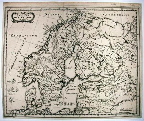 SOLD Svecia Dania et Norvegia