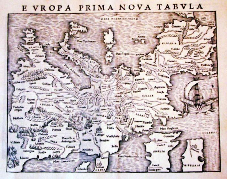 SOLD Europa Prima Nova Tabula
