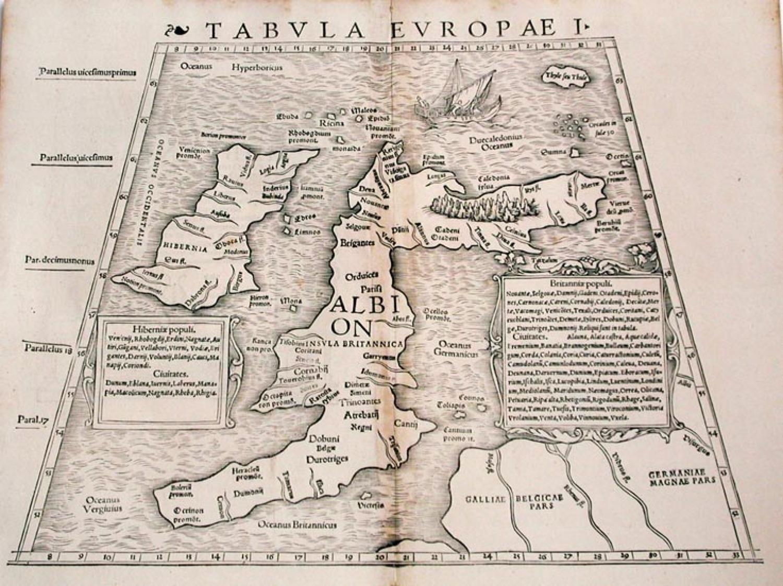 SOLD Tabula Europae I