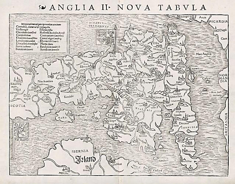 SOLD Anglia II Nova Tabula