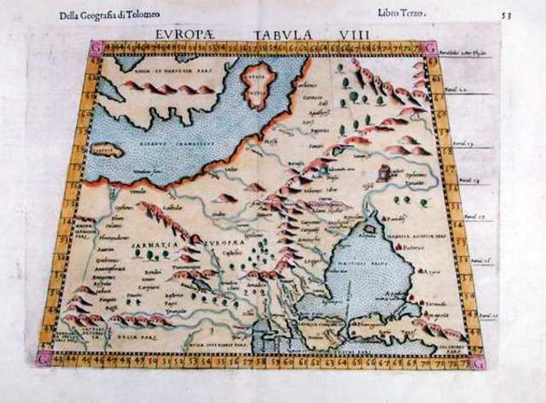 SOLD Europa Tabula VIII