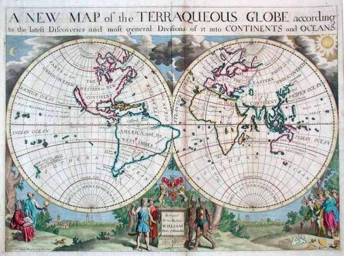 SOLD A New Map of the Terraqueous Globe According to the Latest Discoveries...
