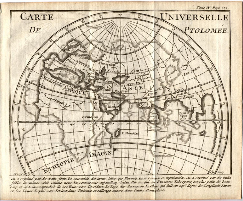 SOLD Carte Universelle de Ptolomee